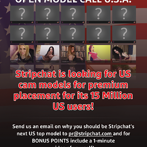 Model Casting Call - Next Top Webcam Model for Stripchat