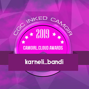 CGCAwards 2019  -  Inked Camgirl on CGC